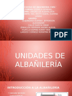 Unidad de Albañileria