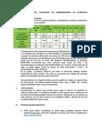 Evaluacion Del Contenido de Minerales y Vitaminas en Alimentos Procesados