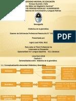Ppts Didactica de La Gramática