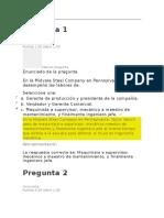 Evaluaciones Procesos y Teorías Administrativas