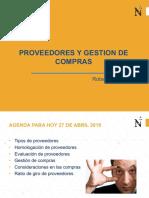 Proveedores y gestión de compras; Unidad II, semana 5.pdf