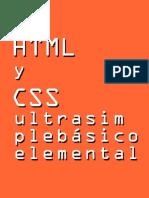 HTML y Css Basico Para Hacer Epub2 Con Sigil