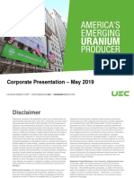 UEC Presentation May 2019