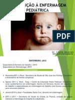 01 AULA Introducao a Enfermagem Pediatrica
