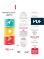 Caladryl Crema Prospecto ELEA