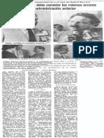 Edgard Romero Nava Sobre Caso Rafael Barreto - Este Gobierno No Debe Cometer Los Mismos Errores de La Administracion Anterior - Diario 2001 1989