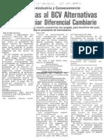 Presentadas al BCV alternativas para financiar diferencial cambiario - El Carabobeño 08.09.1989