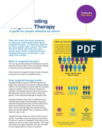 Understanding Targeted Therapy Fact Sheet June 2018