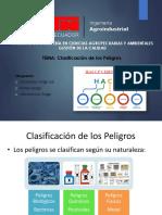 Exposición Gestión de La Calidad Clasificación de Los Peligros