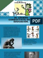 El Legado Conductista en La Educación
