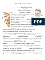 Present Simple Readingcomprehension Text Grammar Drills Worksheet Templates Layouts 106049