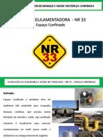 treinamento NR 33
