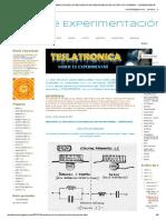 Blog de Experimentación_ Medicion de La Frecuencia de Resonancia de Un Circuito Bobina - Condensador
