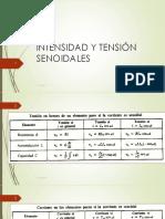 i y v Senoidales