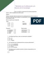 Unidad 3 Sesión 7 Actividad 2 Aplicación de encuesta y análisis de resultados