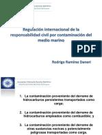 Regulación internacional de la responsabilidad civil por contaminación del medio marino