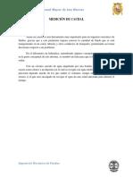182857268 Informe de Medicion de Caudal