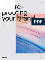 Future Proofing your brand