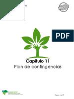 14. EIA_Cap11_Plan de Contingencias