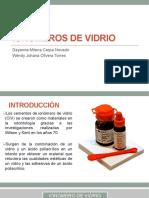 Ionomeros de Vidrio Seminario