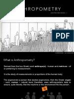 arthropometry