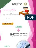 DIAPOSITIVAS grafologia