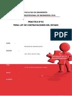 Ley de Contrataciones Del Estado(Rdr)