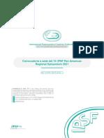 [ESP] Convocatoria Para El 15to PARS 2021