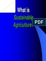 Introduction to Sustainable Agriculture