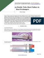 Case Study on Double Tube Sheet-2086