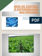 Metodos de control de enfermedades bacterianas