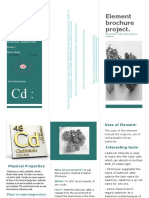 Cadmium Brochure Lab