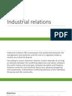 Module 5 - Industrial Relations