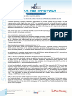 Nota de Prensa n 034 2019 Demografia Empresarial