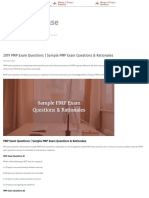2019 PMP Exam Questions _ Sample PMP Exam Questions & Rationales