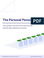 Blueprint Income Personal Pension Guide