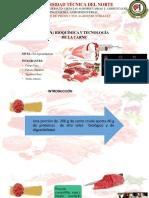 Bioquímica y Tecnología de La Carne