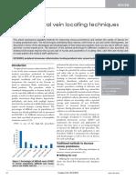 Peripheral Vein Locating Techniques