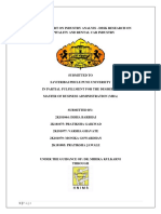 Final Report of IADR