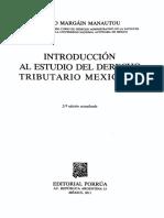 Introd Est Der Tributario Mexicano Emilio Margain Manautou C1