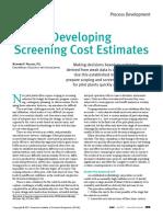 Determine Manufacturing Costs