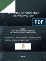 Solución de Problemas de Manufactura