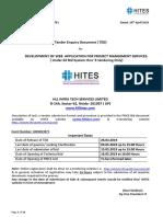 Hites (DEVELOPMENT OF WEB APPLICATION FOR PROJECT MANGEMENT SERVICES)