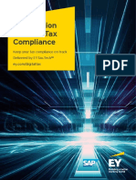 Ey Sap Tax Compliance Brochure