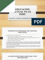 Educación Actual en El Perú