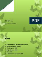 HRM 1