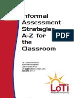 6 Informal Assessment Strategies