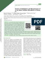 ACS Applied Bio Materials Volume Issue 2018 [Doi 10.1021_acsabm.8b00385] Nomena, Emma M.; Remijn, Caroline; Rogier, Faranaaz; Van Der Vaa -- Unravelling the Mechanism of Stabilization and Microstruc
