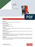 Short Info Micormig400