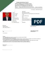 Form Pendaftaran Kkn 1608541030 Toni